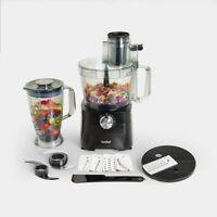 Food Processor Full Set Chop Blend Mixer 3.5L Bowl 1.8L Blender Jar Kitchen