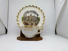 Valley Fair SHAKOPEE MN Valleyfair Cup & Saucer with Stand Minnesota souvenir