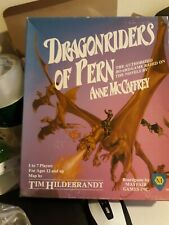 DRAGONRIDERS OF PERN: BOARDGAME SIGNED BY ANNE MCCAFFREY