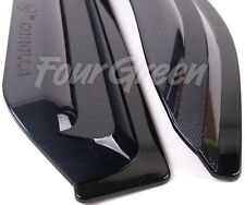 Smoke Window Sun Vent Visor Rain Deflector Guards 4P for TOYOTA 2007-13 Corolla