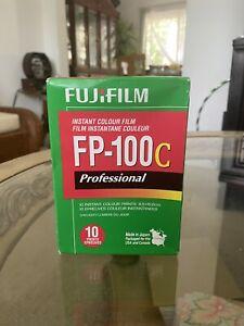 Fuji-FP-100c Pro Color Pack Film EXP 2014-07
