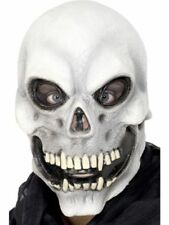 100% True Halloween Party Stretch Bone Skeleton Shape Masks Festival Fancy Dress Pirate Costume Accessories For Men Women Men's Masks