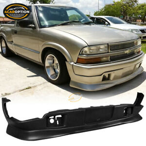 Fits 98-04 Chevy S10 GMC Extreme Style PU Front Bumper Lip Spoiler