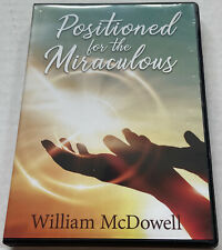 Positioned For The Miraculous William McDowell Sid Roth's Supernatural 2 CD Set