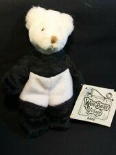 """GANZ - Wee Bear Village - BAMBOO dressed as Panda - 7"""" Retired"""
