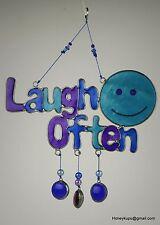 Laugh Often mobile/Suncatcher, Free Shipping