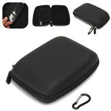 6 inch Hard Shell Carry Case Zipper Cover Pouch for GPS TomTom Garmin Sat Nav