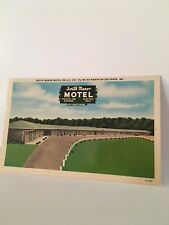 SOUTH MANOR Motel Sylvania Georgia GA Vintage PC 1954