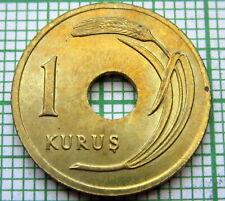 TURKEY 1948 1 KURUS, UNC