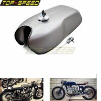 Tanks 9L/2.4 Gallon Gas Fuel Tank Protector For Yamaha RD50 RD350 BMW Cafe Racer