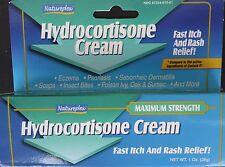 Natureplex - HYDROCORTISONE CREAM 1% Fast Itch & Rash Relief, 1 oz Tube