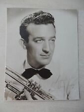 "Harry James Autographed 5"" X 6"" Photograph from Estate"