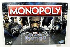 Monopoly Game Black Panther Marvel Edition 2018 Hasbro Factory Sealed NIB
