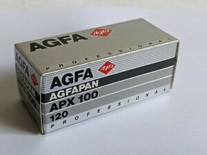 Agfa AGFAPAN APX 100 Professional 120 Format Black & White Film