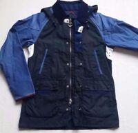 Barbour X Adidas Johbar Men's Wax Cotton Jacket - Navy, Size Large  RARE