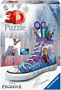 Ravensburger Disney Frozen 2 Trainer 108 Piece 3D Jigsaw Puzzle. New