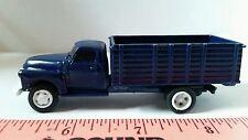1/64 CUSTOM ERTL farm toy 1950's Chevrolet chevy dark blue seed grain truck