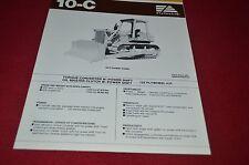 Fiat Allis 10-C Crawler Tractor Dozer Dealer's Brochure DCPA6 Ver2