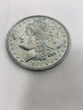 Jumbo Giant Metal Production Magic Coin Trick Us Morgan Silver Dollar