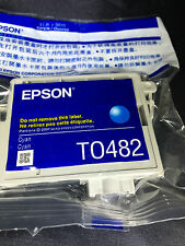 NIP TO482 Cyan InkJet Cartridge Epson Stylus Photo R200/R220/R300/R320/R340