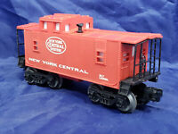 LIONEL NEW YORK CENTRAL RED CABOOSE. VINTAGE O27. MINT From 1993 NYC FLYER Set