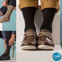 IOMI - 6 paires homme confort chaussettes diabetiques sans elastique