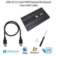 """SATA 2.5"""" USB 3.0 Festplattenlaufwerk Externes Gehäuse Festplattengehäuse für LP"""