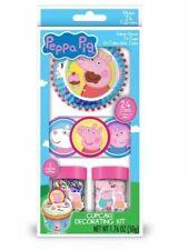 NEW Treat Street PEPPA PIG Cupcake Decorating Kit Makes 24 Cupcakes