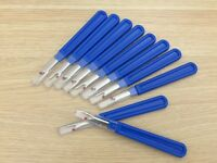 5 PCS HEAVY DUTY NEW FLAT HANDLE SEAM RIPPER 112R WOODY STYLE HANDLE