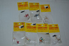 7 IHC Ho Scale Circus Town / Carnival Figures
