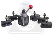 Bostar Axa 250 111 Wedge Type Tool Post Tool Holder Set For Lathe 6 12 6pc