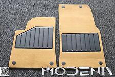 Original Maserati Fußmattensatz Fussmatte Maserati 4200 Spyder beige biondo