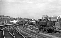 PHOTO  MONMOUTHSHIRE  NEWPORT HIGH STREET RAILWAY STATION FROM THE WEST 1962 875