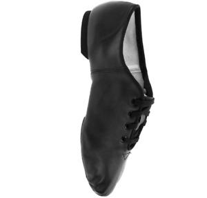Black leather capezio CG02 split sole jazz shoes  - all sizes