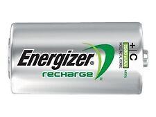 2 X Energizer C 2500 mAh Rechargeable Batteries AACU Power Plus Lr14 Mn1400