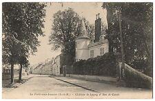 CPA 77 - LA FERTE SOUS JOUARRE (Seine et Marne) Château de Lagny et rue de Condé