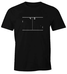 Herren T-Shirt Pong Atari Fun-Shirt Moonworks®