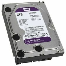 Disque Dur 3 To Tb WESTERN DIGITAL Purple HDD 3,5""