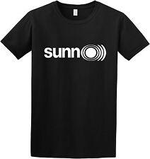 Sunn O))) black t-shirt maglietta logo drone (no cd lp) DOOM METAL