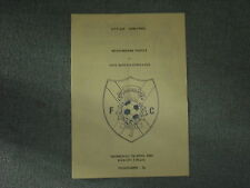 MEADOWBANK THISTLE  V  CIVIL SERVICE STROLLERS (CITY CUP S/F TIE) 7-4-82 4 PAGER