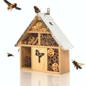 Insektenhotel Bienenhotel Insektenhaus Nistkasten Bambus Unterschlupf