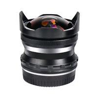 Pergear 7.5mm F2.8 Manual Fisheye Lens For Micro 4/3 Mount Mirrorless Camera