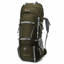 Mountaintop [2016 NEW] 70L+10L Internal Frame Backpack Water-resistant Hiking Ba