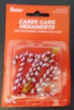 NEW Mini Candy Cane Christmas Ornaments Charms 8 Piece
