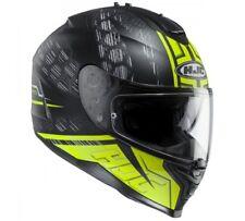 NEW HJC Helm IS-17 Enver neon gelb matt Gr. L = 59/60 Motorradhelm Sonnenblende
