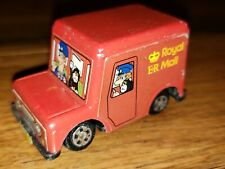 Vintage 1983 Woodland Animations Postman Pat ERTL ER Royal Mail Red Van 2.25""