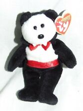 Ty Halloweenie Beanies - Van Pyre the Bear (Retired) NEW!