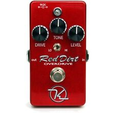 Keeley Red Dirt FET Overdrive Guitar Effect Pedal +Picks