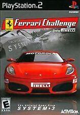 Ferrari Challenge: Trofeo Pirelli (Sony PlayStation 2, 2008) Brand New Seal