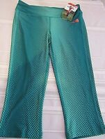 THE NORTH FACE WOMEN'S GREEN TRAINING MOUNTAIN ATHLETIC PULSE CAPRI , SIZE M NWT